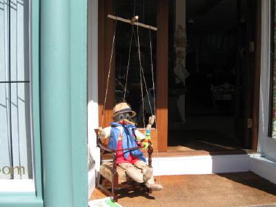 Scarecrow Competition ? …..Eye Open gardens